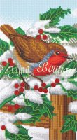Crystal Art Kit Robin Friends CAK-A113T 40×22cm Full