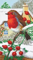 Crystal Art Kit Robin Friends CAK-A115T 40×22cm Full