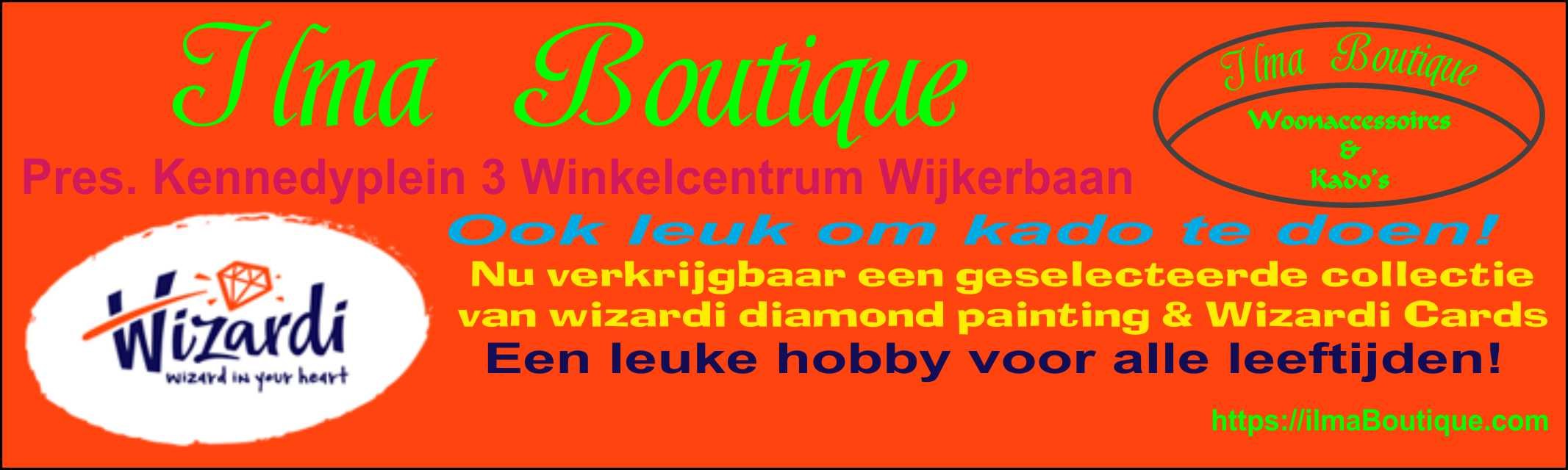 wizardi diamond painting & Wizardi Cards, Verkrijbaar via