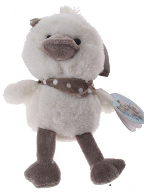 2afdbddeb04bb1 Eddy Toys knuffel kuiken pluche 18 cm wit/grijs [871125201371 ...