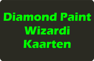Diamond Paint Wizardi Kaarten